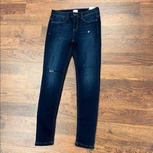Sneak peek denim jeans